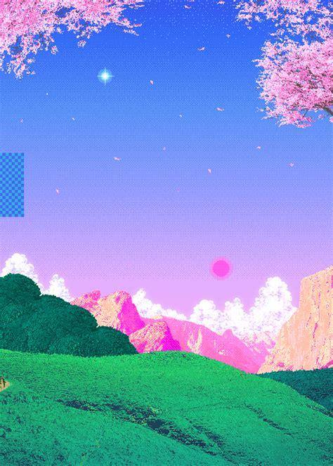Kaos Anime Airbrush cameos vaporwave 8 bit pixel vaporwave