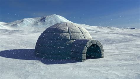 Floor Plans For My House arctic igloo stock footage video 8481013 shutterstock