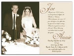 50th wedding anniversary templates 50th wedding anniversary invitations