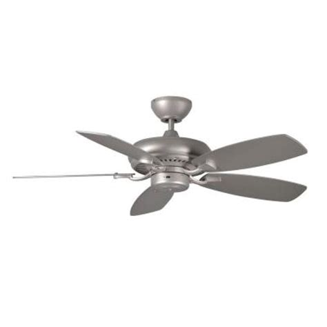 Monte Carlo Designer Max Ii 44 In Brushed Pewter Silver Pewter Ceiling Fan