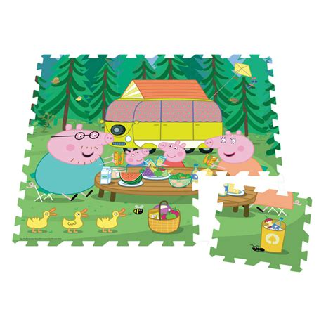 Floor Puzzle by Peppa Pig 9pc Foam Floor Puzzle Tumble Tots