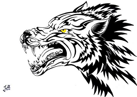 snarling wolf tattoo designs snarling wolf drawing www imgkid the image