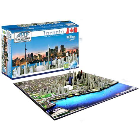Lookup Toronto 714832000540 Upc 4 D Cityscape Toronto Canada Puzzle