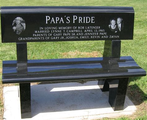 how to get a memorial bench 7 best images about special sayings on pinterest heart