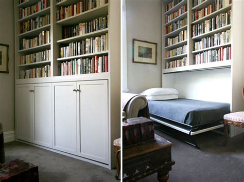 white traditional murphy bed bookshelf hide a way hidden