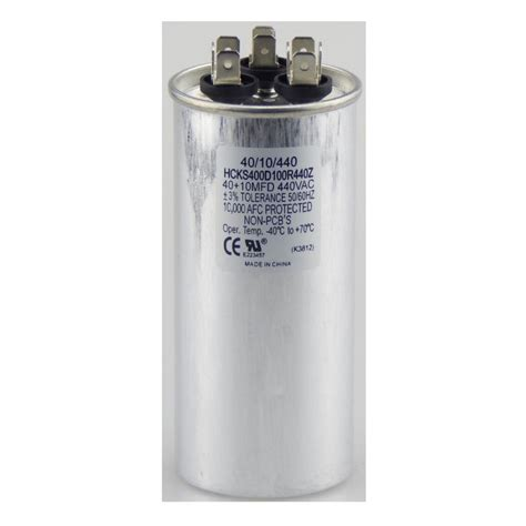 eastman 45 5 mfd 370 vac dual run capacitor 92062