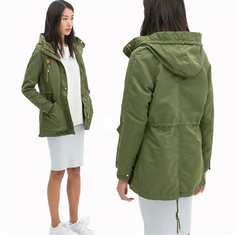 Trend Alert Inspired Coats by New European Style Jackets Casual Hooded