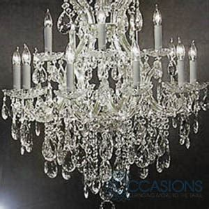 event chandeliers chandelier 13 light small marbella event furniture and