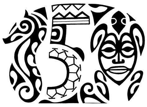 polynesian tribal lettering www imgkid com the image