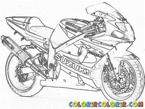 11 Dessins De Coloriage Moto Tuning 224 Imprimer