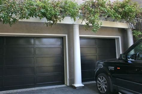 Pinterest Black Garage Door
