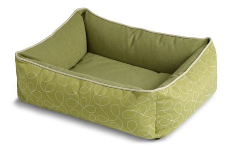 crypton dog bed crypton bumper dog bed loopy green at gardner white