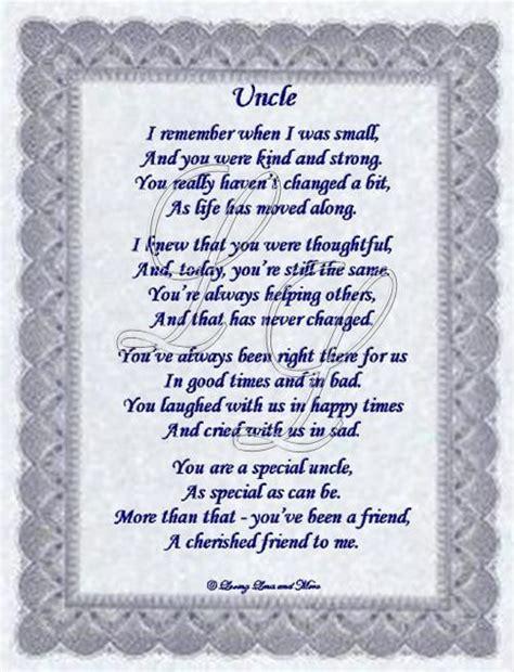 short poems  uncles uncle poem    uncle  means