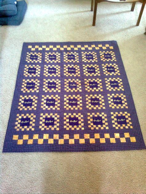 Quilts Made From Crown Royal Bags by 45 Best Quilts Images On Crown Royal Bags