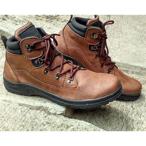 Sepatu Boot Tracking Pria Moofeat Tracking sepatu boot pria 1904 tracking sepatu boots pria elevenia