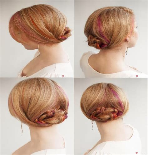 Coiffure Cheveux Courts Facile by Coiffure Chic Et Facile Cheveux Courts Coiffure Simple