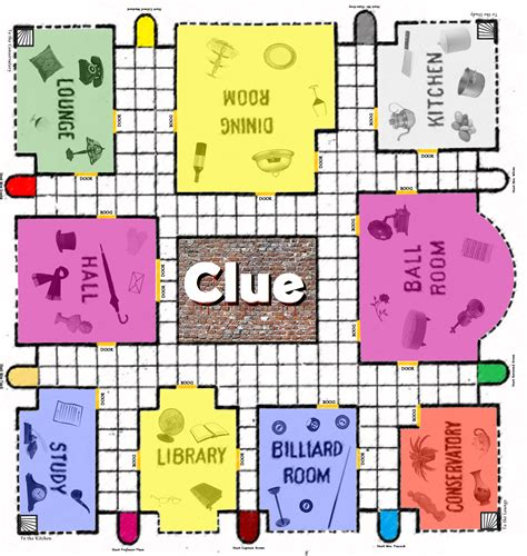 printable board games clue game board printable clue board game pinterest