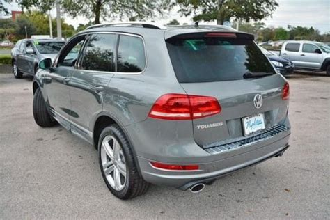 purchase new 2014 volkswagen touareg r line in 4175 s