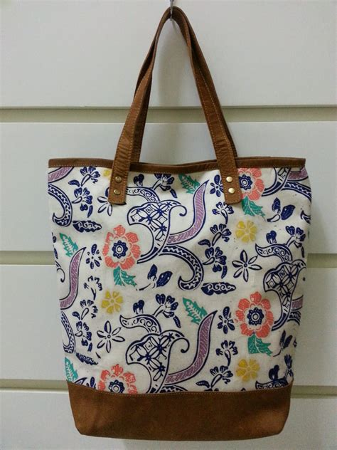 expensive pattern tote bag handmade tote bag made from indonesian batik by