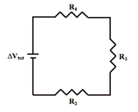 are the three resistors shown wired in series parallel or a combination problem set