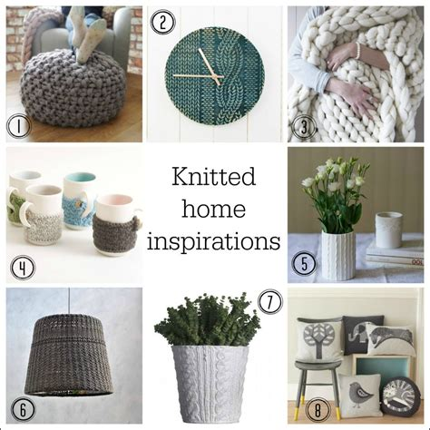 knit home decor cosy up your home with knitted style accessories fresh design