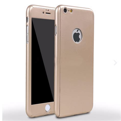 Iphone 6 360 Tempered Glass 360 176 Hybrid Tempered Glass Slim Cover For