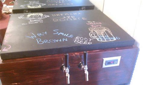 chalkboard paint keezer 20 best custom kegerator and keezers draft