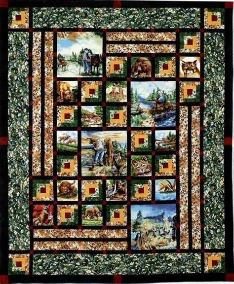 quilt pattern fabric panel image result for panel quilt patterns sewing ideas