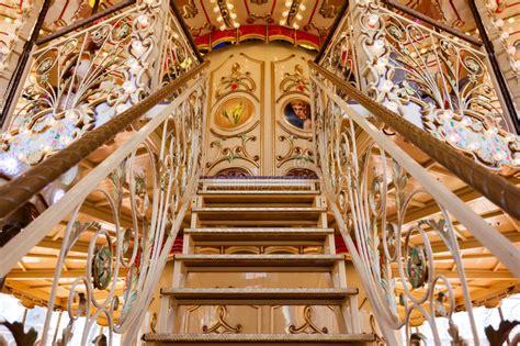 go antiques carousel decoration stock image image of entertainment
