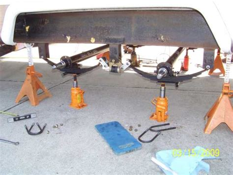 how to align boat trailer axles rv net open roads forum tt axle alignment install