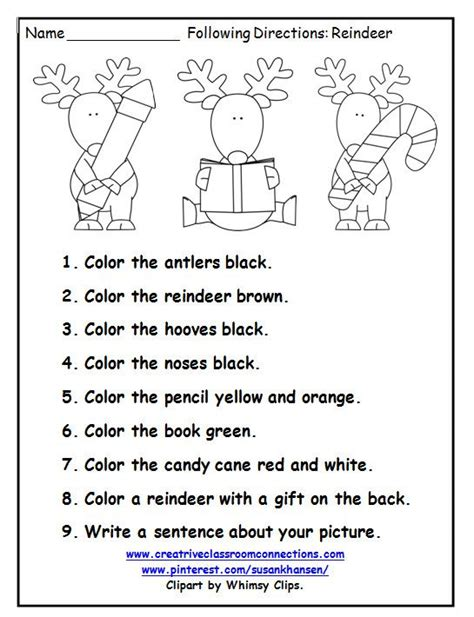 directions exercises printable this free printable is a great december activity for