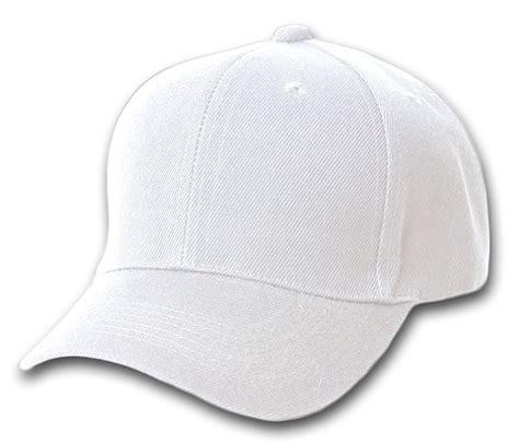 plain baseball cap in white intl review blank plain adjustable velcro baseball cap hat