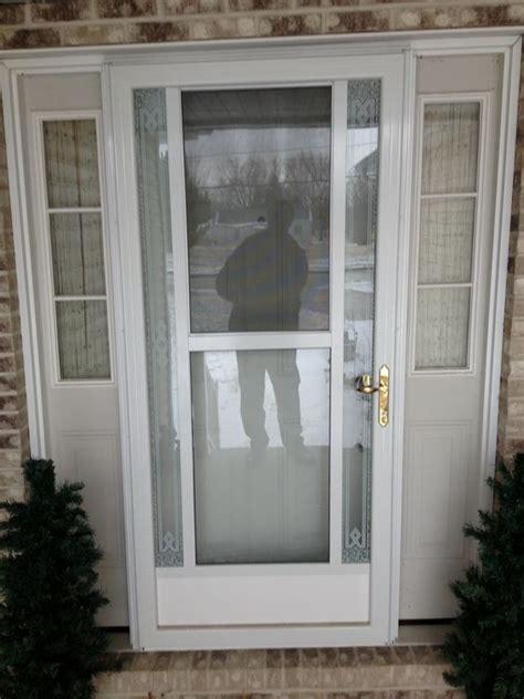 colonial front doors with storm door in front of it of the front doors storm doors and doors on pinterest