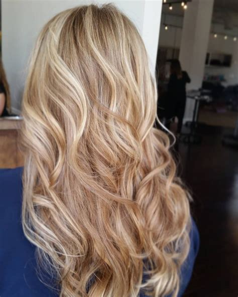 hi and low lights on layered hair 60 best blonde hairstyles with lowlights and highlights