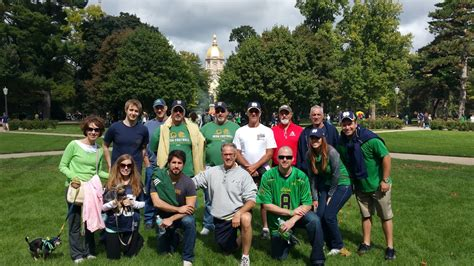 Notre Dame Mba Cus Visit by The Comeback Mba Echoes