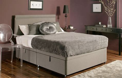 chenille ottoman bed chenille ottoman storage divan base with 7 colour options