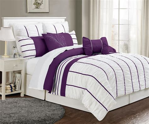 purple and grey comforter sets purple and grey bedding purple grey bedding home decor