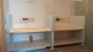 salle de bain en siporex 2 meuble vasque carreaux de