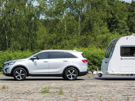 kia sorento towing reviews kia sorento review kia tow cars practical caravan