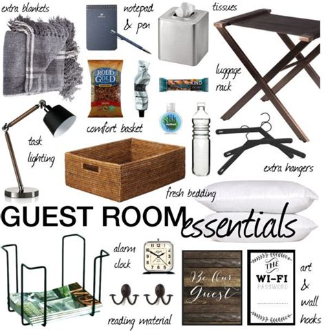 guest room essentials guest room essentials essentials room and polyvore