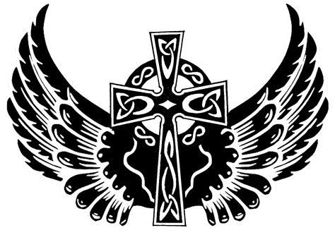 cross wings wallpaper clipart best