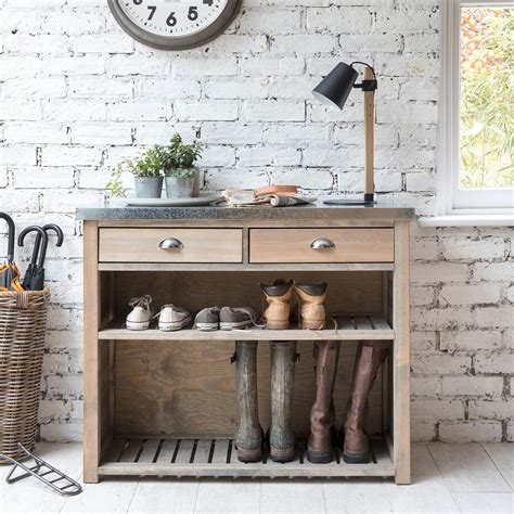 wooden storage cupboard  modern utility rooms  boot rooms