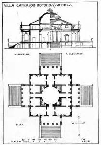 Floor Plan Creator With Dimensions villa rotunda plan flickr photo sharing