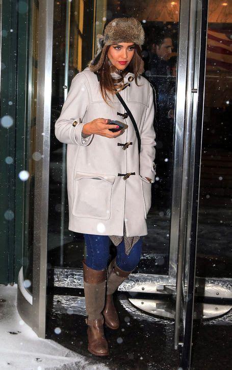 Alba Sprint Black alba wears the winter coat hat and boot