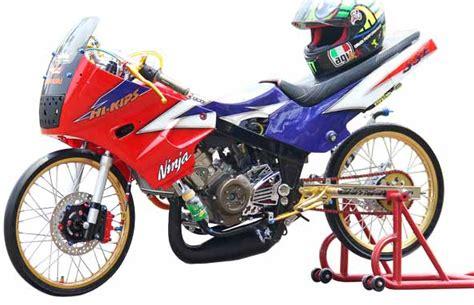 gambar modifikasi motor r 150 drag bike tailook modif balap