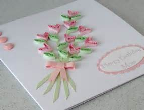 home made flowers greetings cards designs ideas trendy