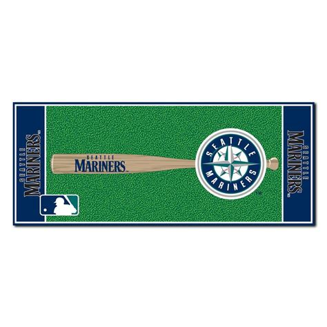 Cincinnati Reds Home Decor fanmats seattle mariners 2 ft 6 in x 6 ft baseball