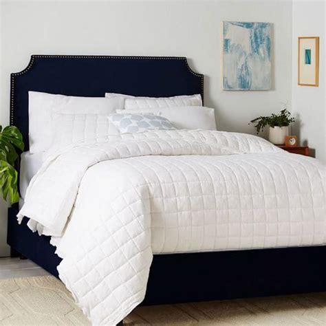 blue velvet bed slub velvet orianna bed in mint