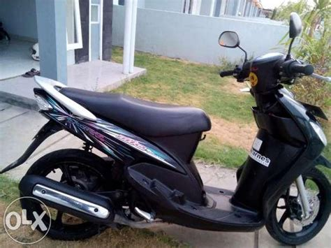Striping Mio Sporty 2009 Biru jual stiker striping motor yamaha mio sporty cw 2008 hitam di lapak audria collection