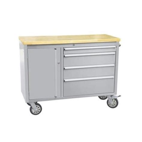48 Wide Chest Of Drawers Thor Kitchen Htc4804w 48 Inch Tool Chest With 4 Drawers